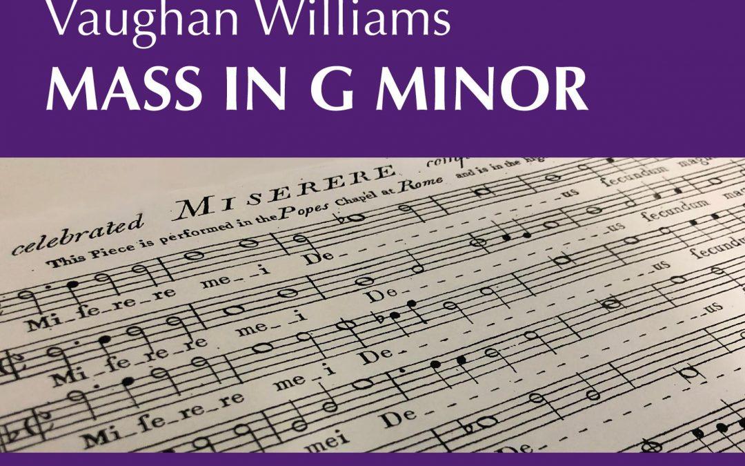 Vaughan Williams – Mass in G minor / Allegri