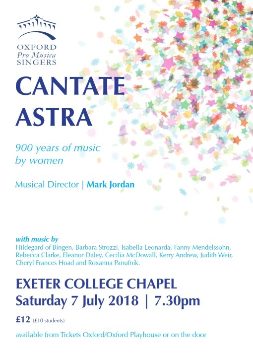 poster opms cantate astra