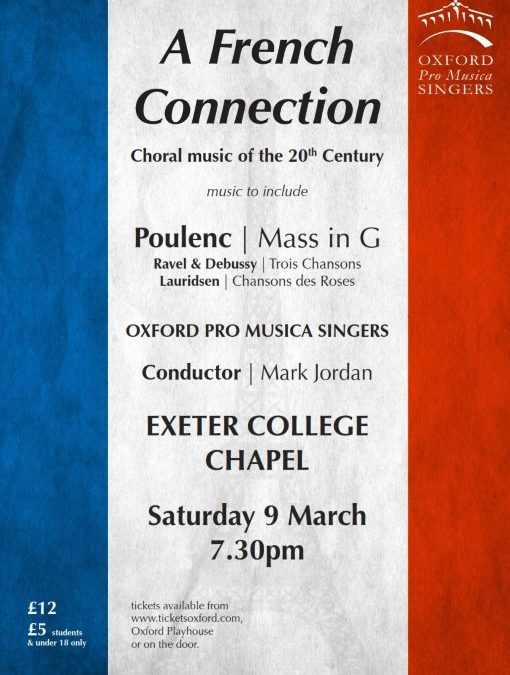 Poulenc – Mass in G