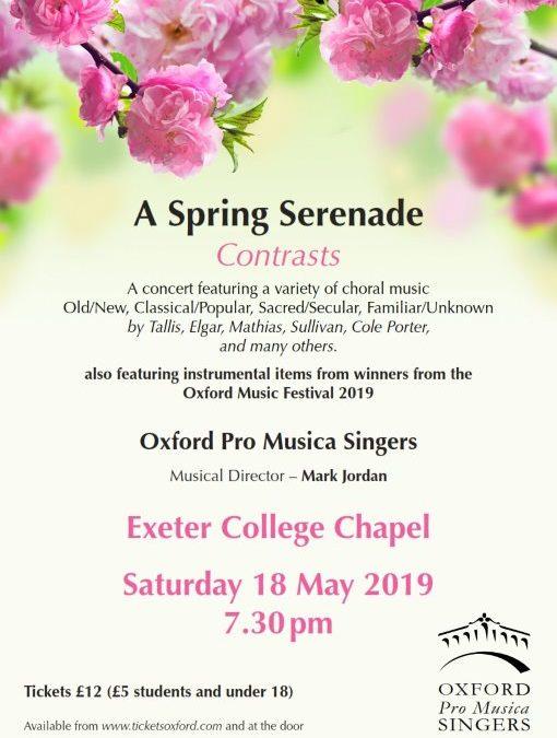 A Spring Serenade – Contrasts